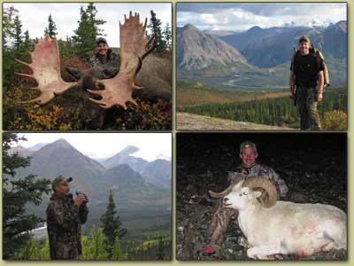 Guided Moose hunting in Alaska, Outfiier for Sheep Hunting in Alaska